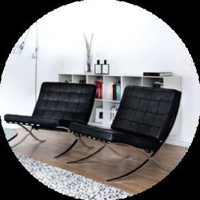 Hochwertige Barcelona Chair Replica Günstig Bei Muloco