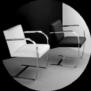 Der Brno Stuhl Wurde Von Ludwig Mies Van Der Rohe Entworfen Und Vereint  Modernität Und Eine Klassische Schlichtheit In Einem Modernen Design.
