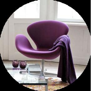 replica des swan chair g nstig bei muloco. Black Bedroom Furniture Sets. Home Design Ideas