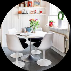 Replica des Tulip Chair günstig bei Muloco