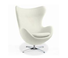 Egg Chair Reproductie.Replica Des Arne Jacobsen Egg Chair Gunstig Bei Muloco