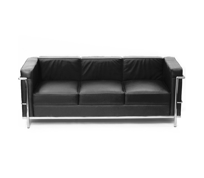 Le Corbusier LC2 3 Sitzer