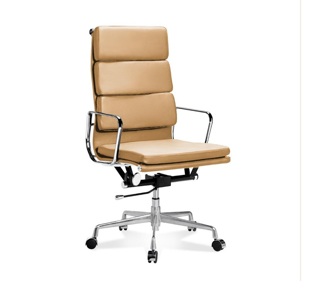 EA 219 - Eames Full-Height Office Chair with soft cushions