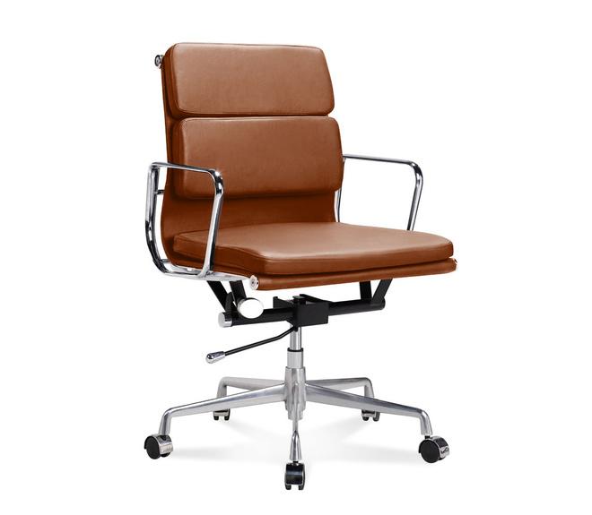 eames chaise de bureau EA 217 - Chaise de bureau Eames Office Chair mi-haute à rembourrage moelleux
