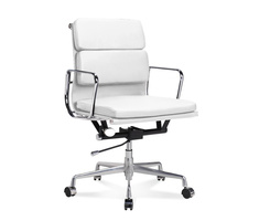 EA 217 - Chaise de bureau Eames  Office Chair mi-haute à...