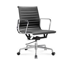 EA 117 - Chaise de bureau Eames Office Chair mi-haute au...