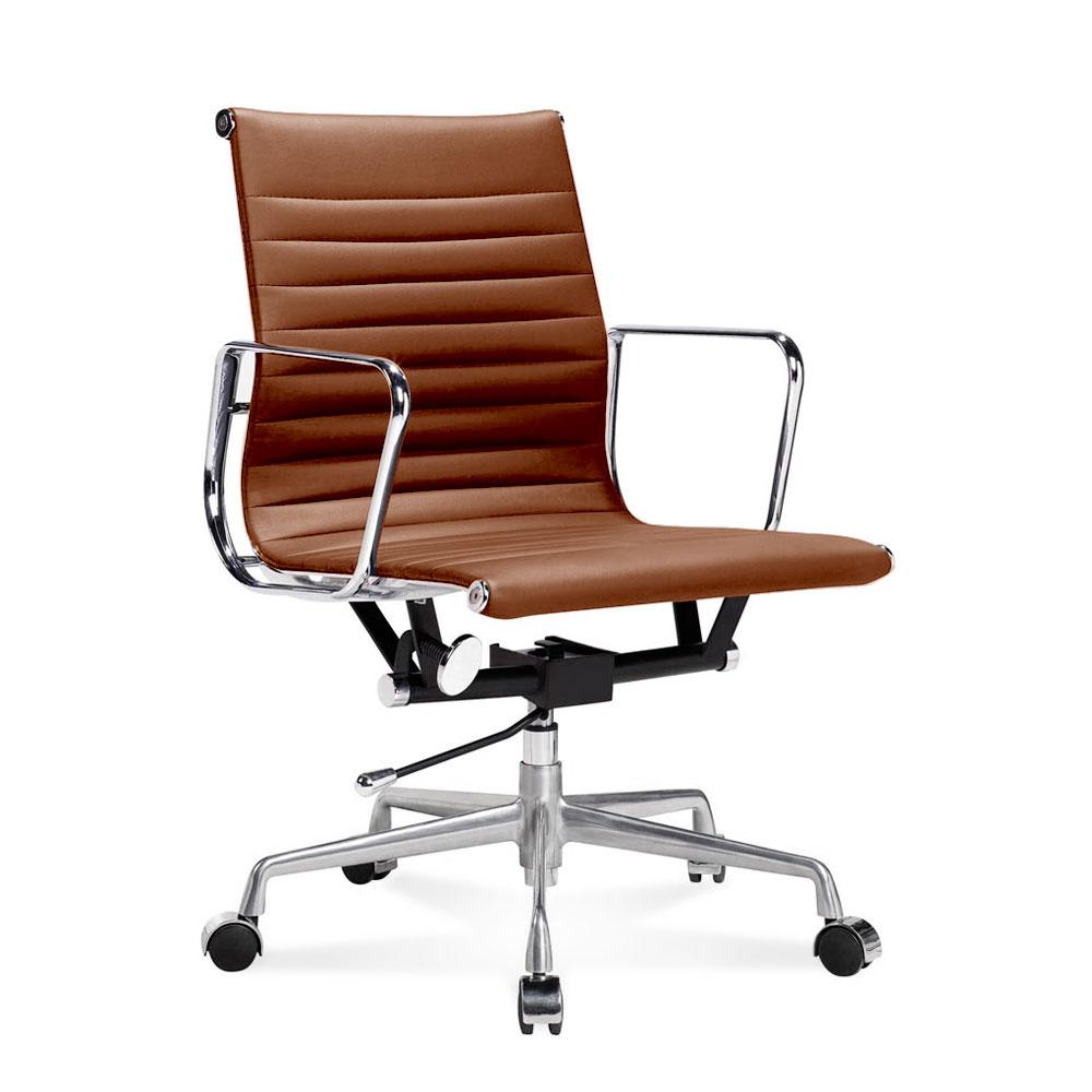 EA 117 Bürostuhl Halbhoher Fice Stuhl Mit Geripptem