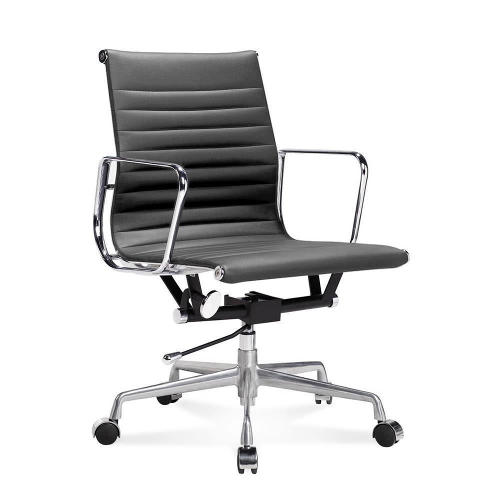 ea 117 eames b rostuhl halbhoher office chair mit geripptem le. Black Bedroom Furniture Sets. Home Design Ideas