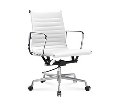 EA 117 - Eames Office Chair halfhoge bureaustoel van...