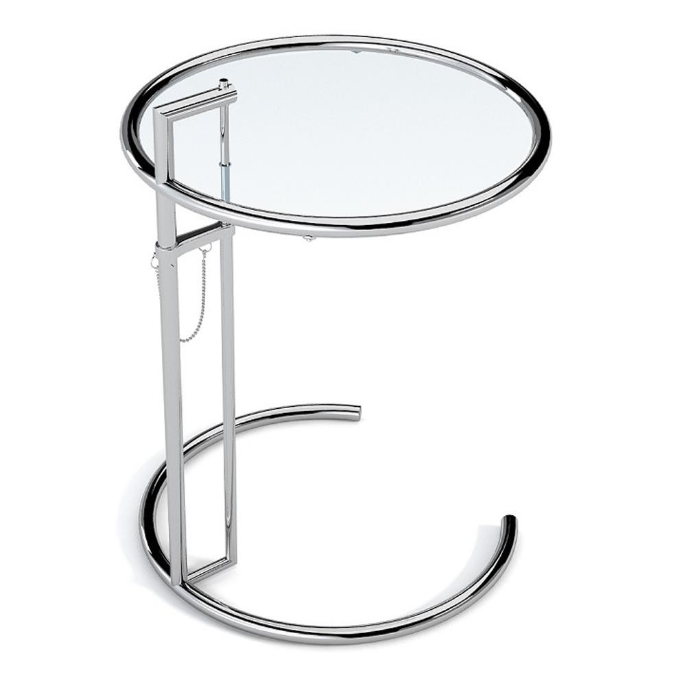 Eileen gray verstelbare glazen tafel e1027 141 61 - Tafel stockholm huis ter wereld ...
