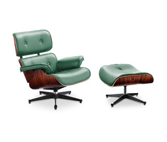 Charles and Ray Eames Eames Lounge Chair with Ottoman