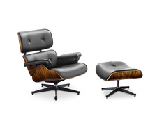 Charles and Ray Eames Eames Lounge Chair mit Ottoman