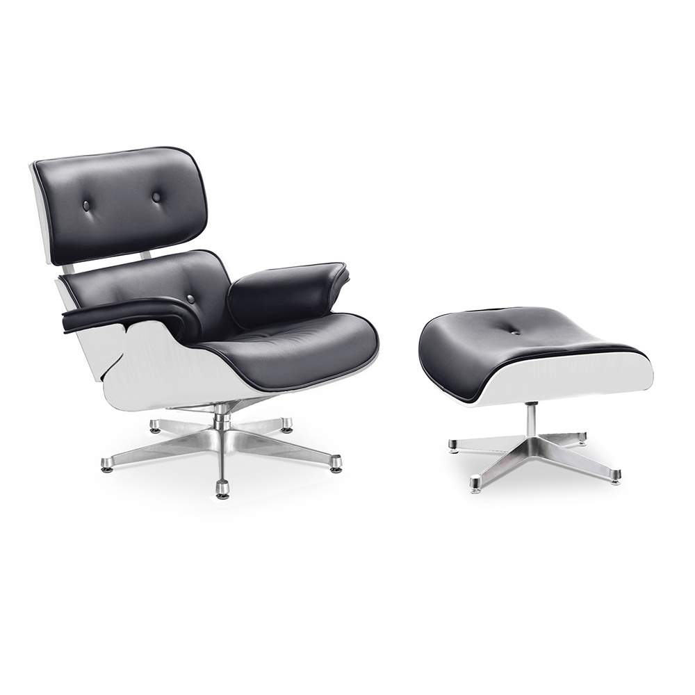charles and ray eames eames lounge chair mit ottoman 999 00. Black Bedroom Furniture Sets. Home Design Ideas