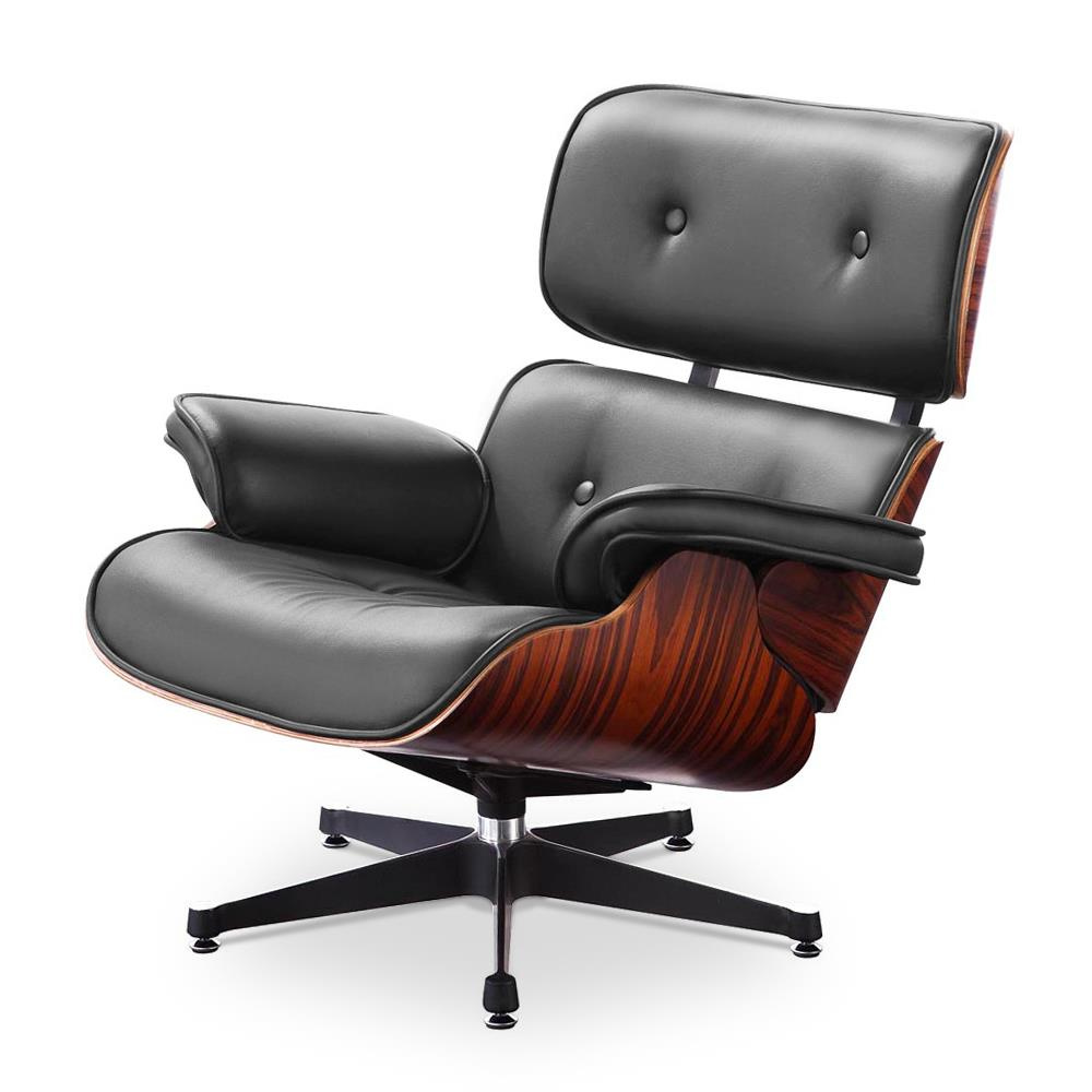 eames lounge chair de charles et ray eames 650 14. Black Bedroom Furniture Sets. Home Design Ideas