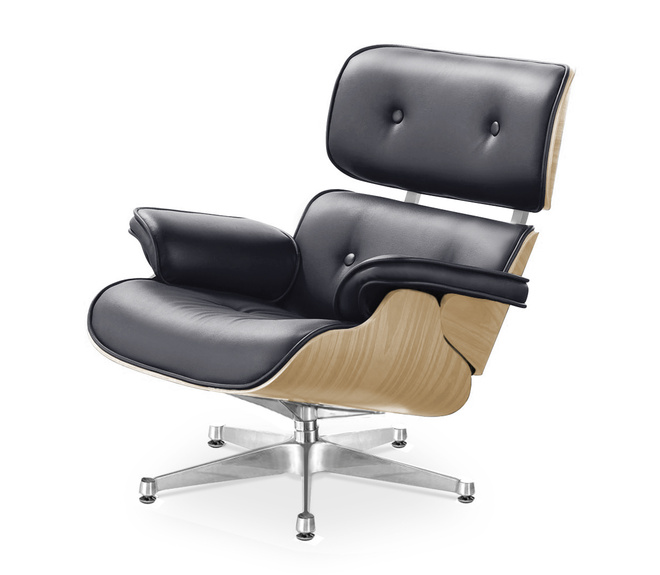 replica des charles eames lounge chair g nstig bei muloco. Black Bedroom Furniture Sets. Home Design Ideas