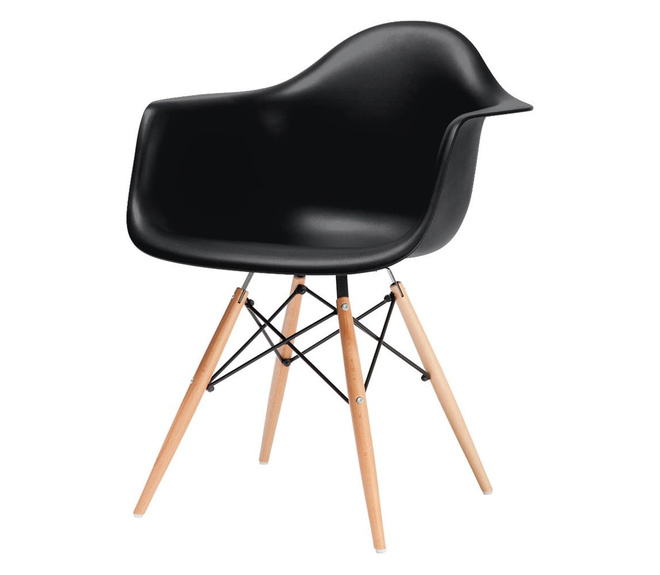 Set of Two Charles and Ray Eames DAW Chair